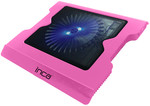 Inca LED Fanlı Hight Cool Sessiz USB Notebook Soğutucu Pembe