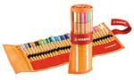 Stabilo Point 88 Çantali Roller Set 25+5 Neon Renk  8830-2