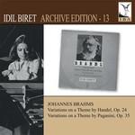 İdil Biret:Archive Edition 13 Brahms Variations