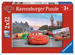 Ravensburger Wd Cars Mcqueen 2x12 Parça Puzzle 75546