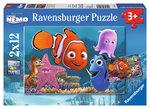 Ravensburger Wd Nemo 2x12 Parça Puzzle 75560