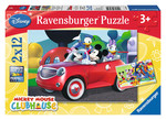 Ravensburger Wd Mickey 2x12 Parça Puzzle 75652