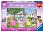 Ravensburger Wd Büyülü Prensesler 2x24 Parça Puzzle 088652