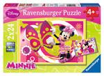 Ravensburger Wd Minnie ile Bir Gün 2x24 Parça Puzzle 090471