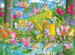 Ravensburger Periler Diyarı 100 Parça Puzzle 106028