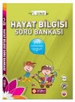 2. Sınıf Hayat Bilgisi Soru Bankası + DVD Çözümlü