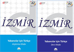 İzmir Yabancılar İçin Türkçe A2 - Ders Kitabı ve Alıştırma Kitabı Set