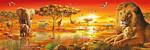 Clementoni 1000 Parça Puzzle Panorama - African Savannah 39259.9