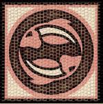 Domenech Mozaik Burçlar Serisi Balık DOM03-2203