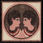 Domenech Mozaik Burçlar Serisi İkizler DOM03-2206