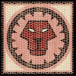 Domenech Mozaik Burçlar Serisi Aslan DOM03-2208