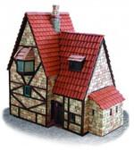 Domenech Casa Alpina Taş Ev Maketi DOM03-3607