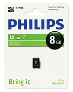Philips FM08MD45B/97 8 Gb Class10 Micro SD Kart Bellek 13380