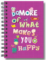 Defter Lovely Do More Of What Makes You Happy - 64181-9