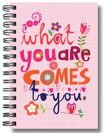 Defter Lovely What You Are Comes To You - 64185-7
