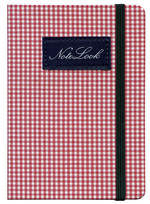 Notelook Cotton A6 Kırmızı Çizgili