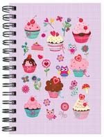 Defter Love Cupcake - 64180-2