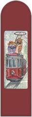 Galeri Alfa 2040103 Taksim Kuşları - Baykuş Serisi Kitap Ayracı