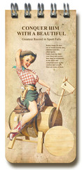 Deffter Pin-Up Kızları Kovboy 64751-4