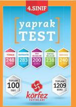 Körfez 4.Sınıf Tüm Dersler Poşet Test