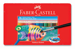 Faber-Castell Metal Kutu Aquarel Boya Kalemi 36 Renk  - 5170115931