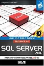 Projeler ile SQL Server 2016