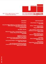 Uluslararası İlişkiler Dergisi Cilt: 11 Sayı: 41