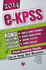 Adalet E-KPSS Lise ve Dengi Konu Anlatımı ve Özgün Sorular 2014