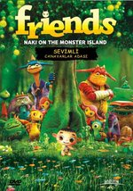 Fridens Naki On The Monster Island - Sevimli Canavarlar