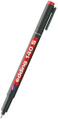 Edding Asetat Kalem Kırmızı E-140S
