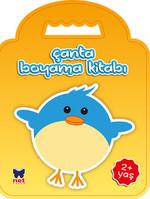 Çanta Boyama Kitabı - Kuş