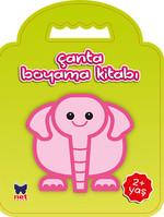 Çanta Boyama Kitabı - Fil