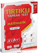 Anafen 4.Sınıf Matematik Tırtıklı  Yaprak Test - 38 Yaprak - DVD'li
