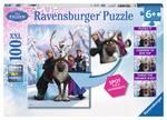 Ravensburger Wd-Frozen Difference - Super 100 Parçalı RCL182909