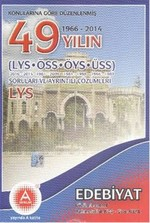 A Yayınları 49 Yılın YGS LYS Edebiyat Soruları ve Ayrıntılı Çözümleri