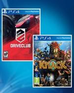 PS4 :Driveclub + Knack Hediye