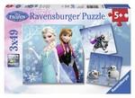 Ravensburger Wd-Frozen Kis Macerasi 3X49 Parçali RPK092642