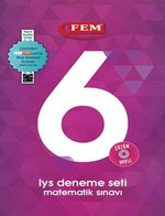 Fem Çözüm Dvd'li 6 LYS Deneme Seti Matematik Sınavı