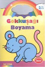 Gökkuşağı Boyama Sarı Kitap - 2 Yaş Üstü
