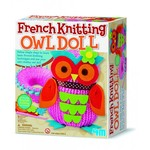 4M French Knitting Owl Doll / Örgü Baykuş Bebek 2764