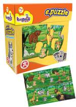Kırkpabuç E.Puzzle Vahşi Hayvanlar / Wıld Anımals 22 Prç 6114