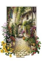 Art Puzzle Çiçekli Ara Sokak-In The Small Flower