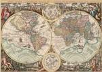 Art Puzzle Dünya Haritası World Map 4631 1500 Lük