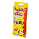 Play-Doh 6 Renk Metalik + 2 Renk Neon Jumbo Kuru Boya PLAY-KU016