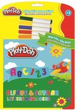Play-Doh Silinebilir Kitap Büyük Harfler-Rakamlar