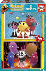 Educa Puzzle Çocuk 2X48 Packman 16159 Karton