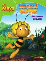 Arı Maya Neşeli Çayır Boyama Kitabı