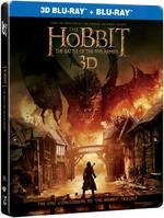 Hobbit:The Battle Of The Five Armies Steel Book-Hobbit:Beş Ordunun Savaşı 3D BD+2D BD