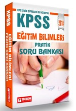 2018 KPSS Eğitim Bilimleri Pratik Soru Bankası