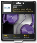 Philips SHL3060PP Kulaküstü kulaklık / Mor